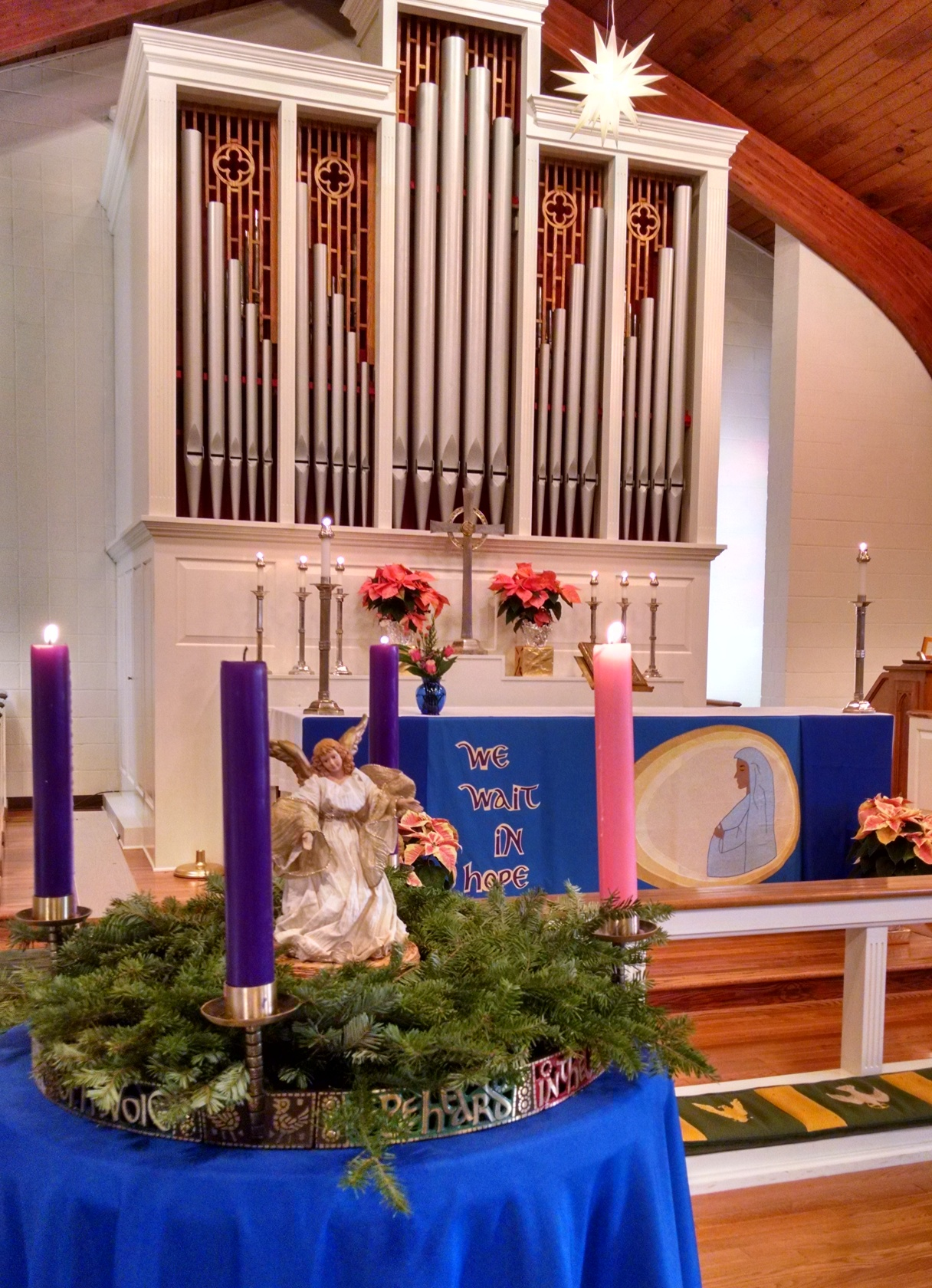 Advent Wreath Main Church