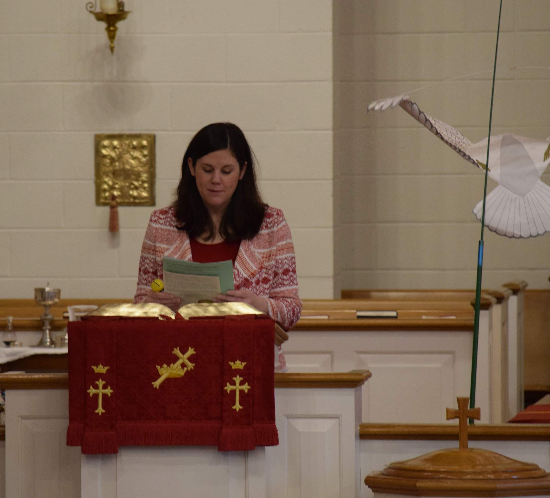 First Reading from Acts of the Holy Spirit